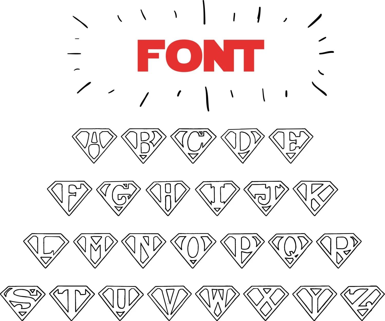 superman font