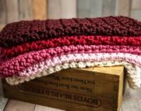 Cranberry bedding | Etsy