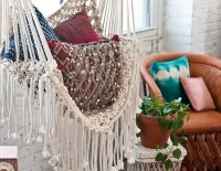 Hippy Hammock // Macrame Chair