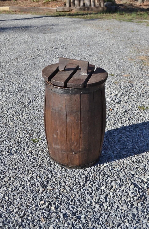 Vintage Wooden Nail Barrel Nail Keg Old Wood Nail Barrel