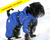 ANY BREED Dog Winter Clothes Dog Snowsuit. Dog Full Body
