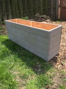 Cedar Planter Box Outdoor Storage Wood