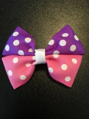 pink and purple polka dot boutique