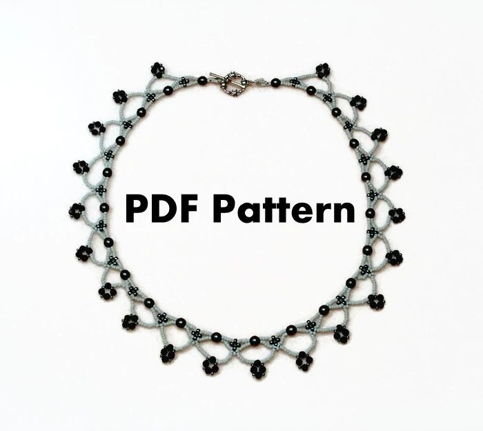 PDF-file Beading Pattern Duchess von Perles by