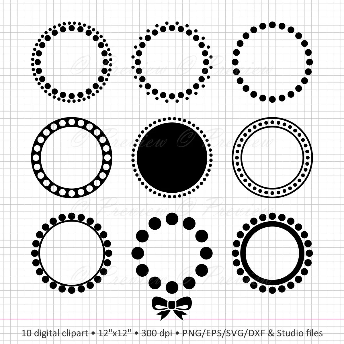 E With Dots E Alphabet Letter With White Polka Dots On