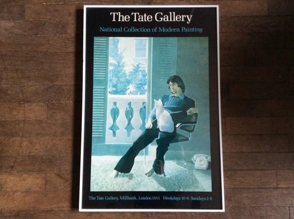 Vintage English Tate David Hockney And Clark