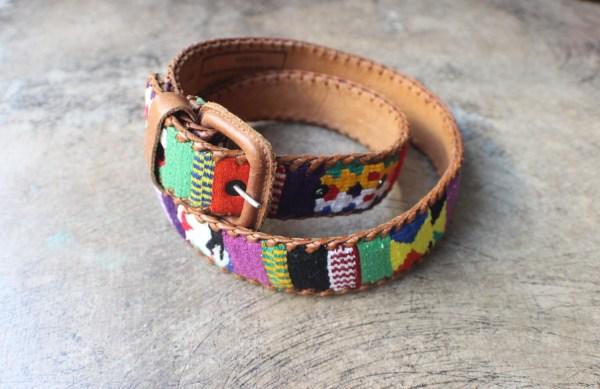 Vintage Belt Guatemalan Textile Southwestvintage