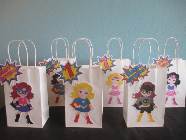 Girls Birthday Party Favor Gift Bag Ideas