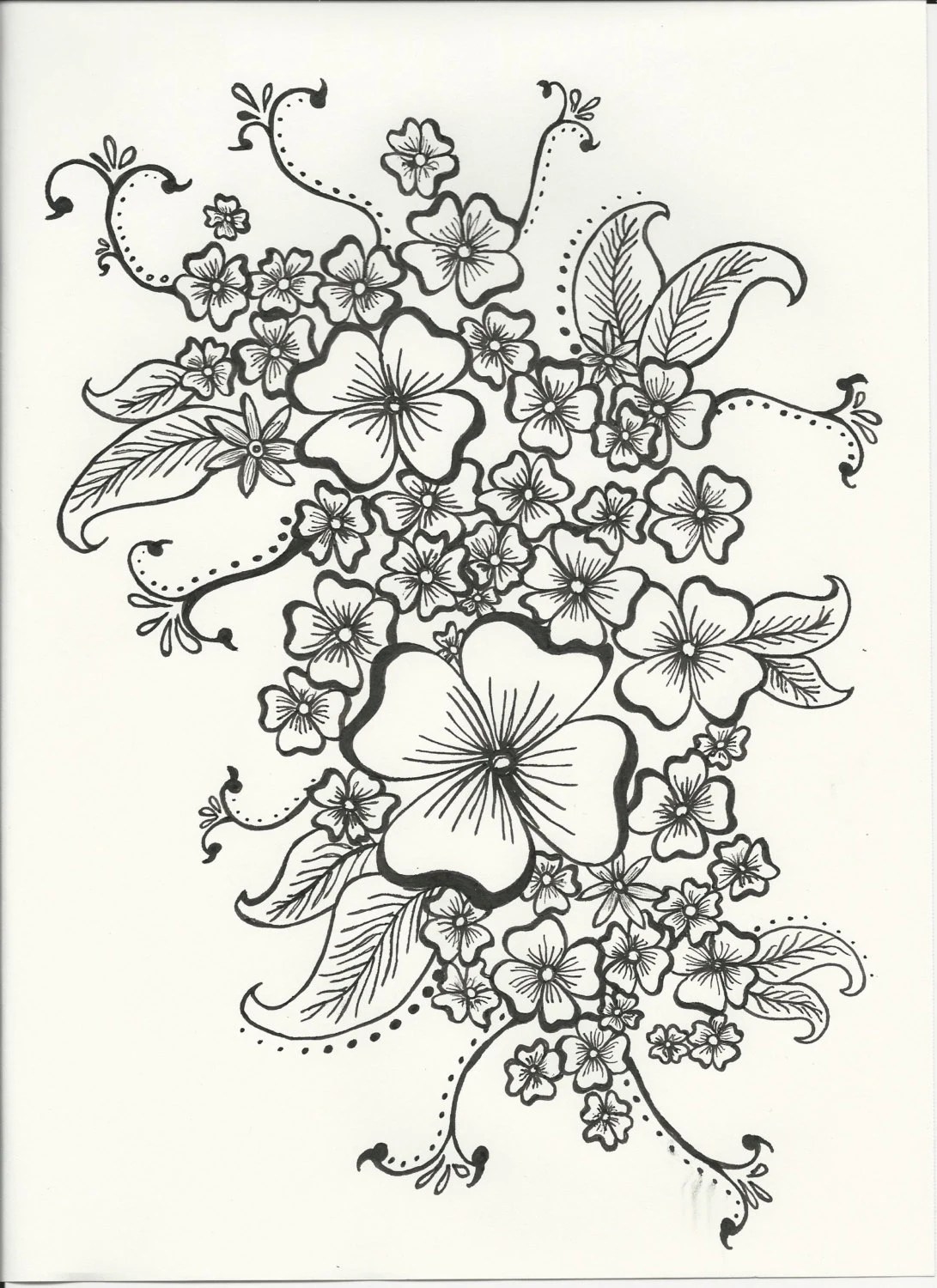 Wall Art Adult Coloring Pages Sketch Coloring Page