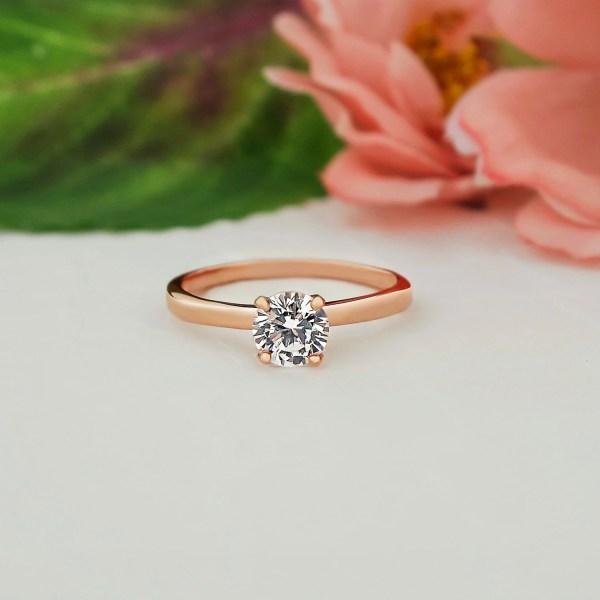 1 2 Ct Promise Ring Engagement 4 Prong Tigergemstones