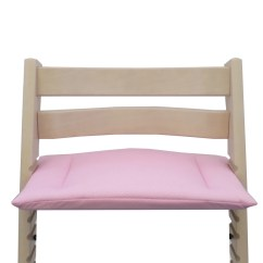 Tripp Trapp High Chair Camping Accessories Cushion For Pink With Small Dots