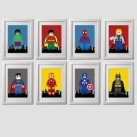 superhero bedroom wall art superhero bedroom wall decor 8x10