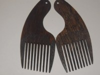 Afro Pick earings. Large Natural Hair Earrings. Free Shipping
