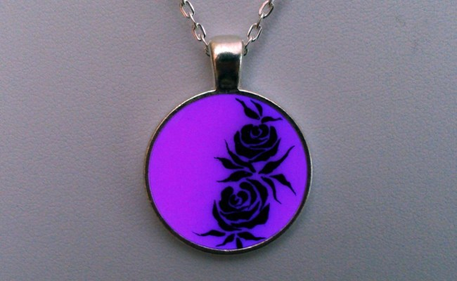 Rose Jewelry Flower Necklace Wife Gift Gifts For Her