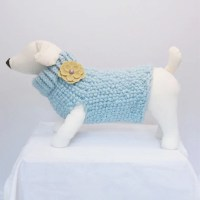 Glacier Dog Sweater Dog clothes Fancy by RemiStyleDogApparel