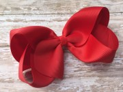 extra large 6 red bow