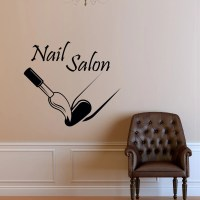 Custom Nail Salon Wall Decal Vinyl Sticker Manicure Nail