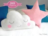 Cloud pillows Kids Pillows Infant pillow Baby Pillow