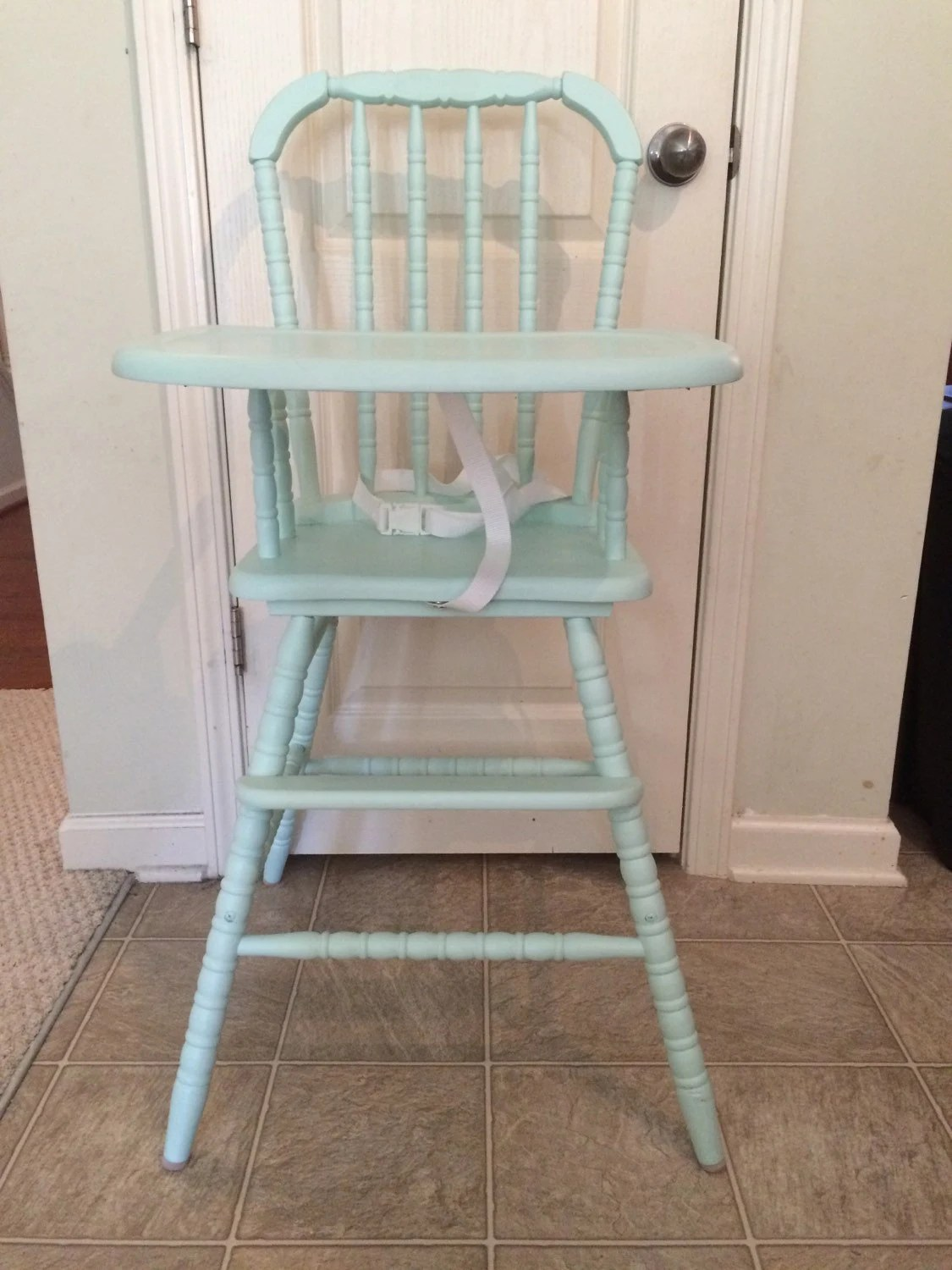 High Chairs Vintage Wooden High Chair Jenny Lind Antique High Chair