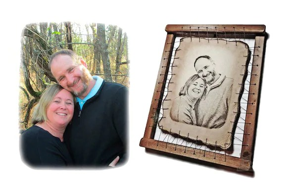 Parents Anniversary Gift Grandparents 50th Wedding By