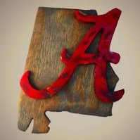 alabama football home decor