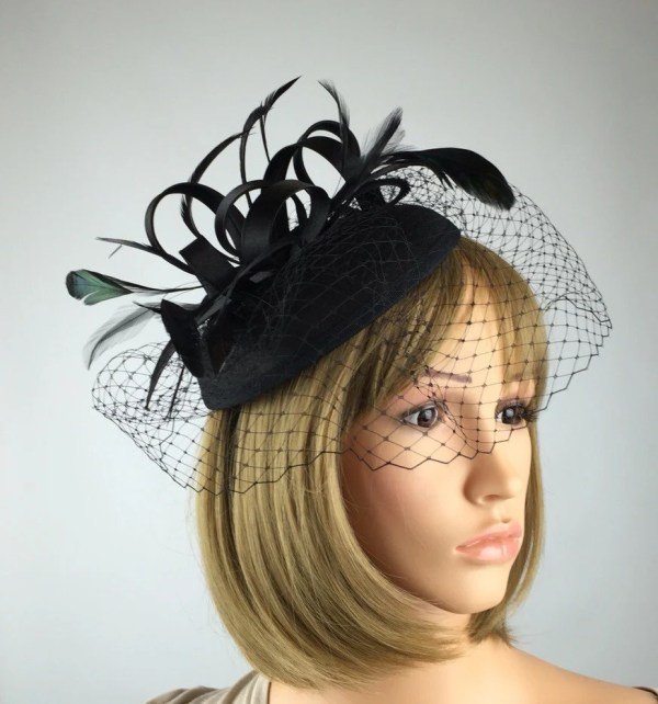 2f95465b2c212 20+ Black Fascinator Hat With Veil Pictures and Ideas on Meta Networks