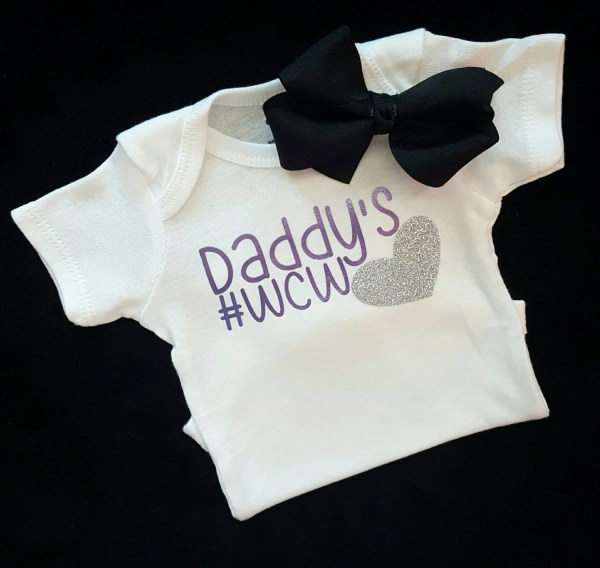 Baby Girl Clothes Onesie Daddy