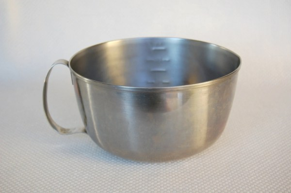 Vintage West Bend Stainless Steel 3 Quart Mixing Bowl