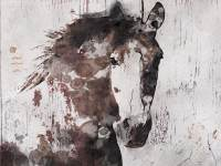 SALE Gorgeous Horse. Extra Large Horse Horse Wall Decor
