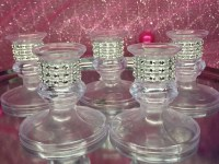 Sweet 16 Tapered Candle holders for lighting ceremony Choose