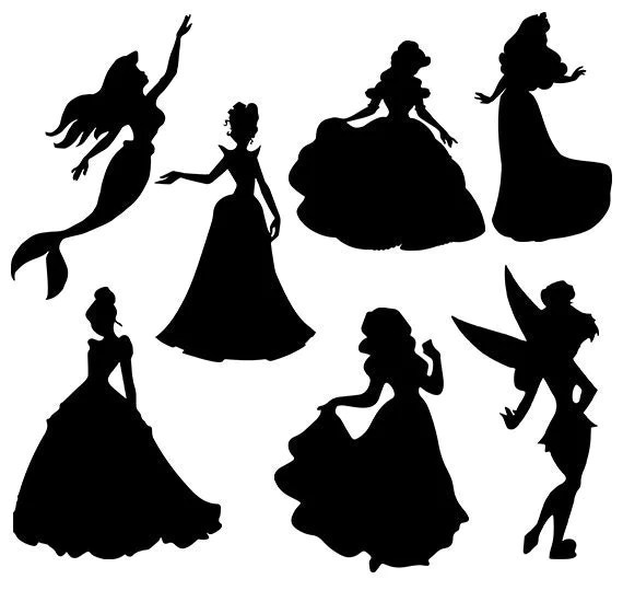 disney svg princess collection