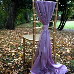Wedding Chair Covers Lilac Dining Room Seat Only Sash Rose Chiffon Cover