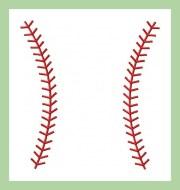machine embroidery design baseball