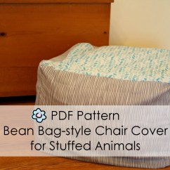 Animal Bean Bag Chair Two Rocking Chairs On A Porch Pdf Pattern For Style Cover Stuffed Animals