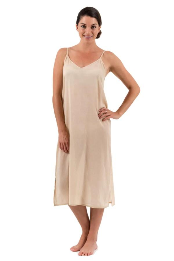 Long Cotton Slips for Maxi Dresses