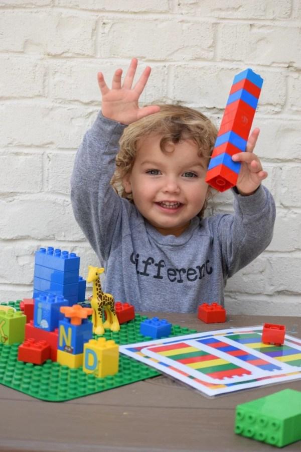 Duplo Building Blocks Mat Playdate Activity Summer School