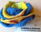 Big woollen felted rose b...