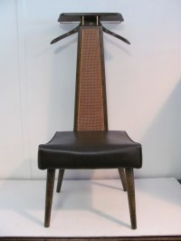 Items similar to Vintage Mens Valet Butler dressing chair ...