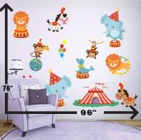 Circus Tent Wall Decal//Circus Nursery Wall Decal//Circus Wall