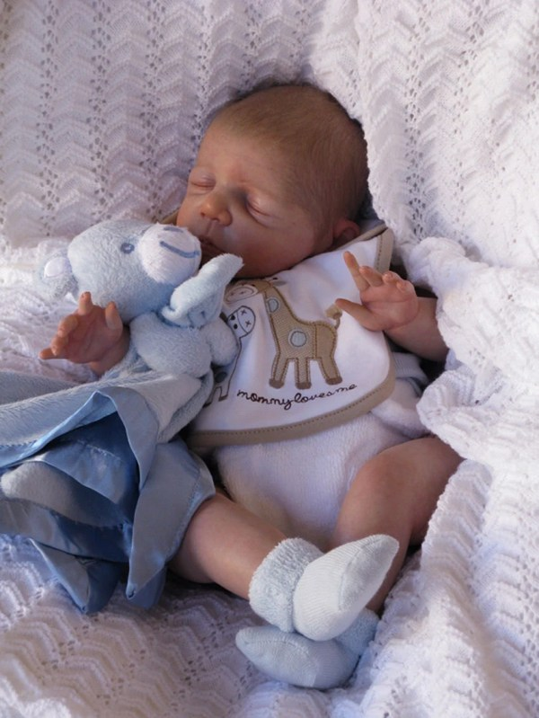 Reborn Baby Kyle Custom Order 0-3 Month