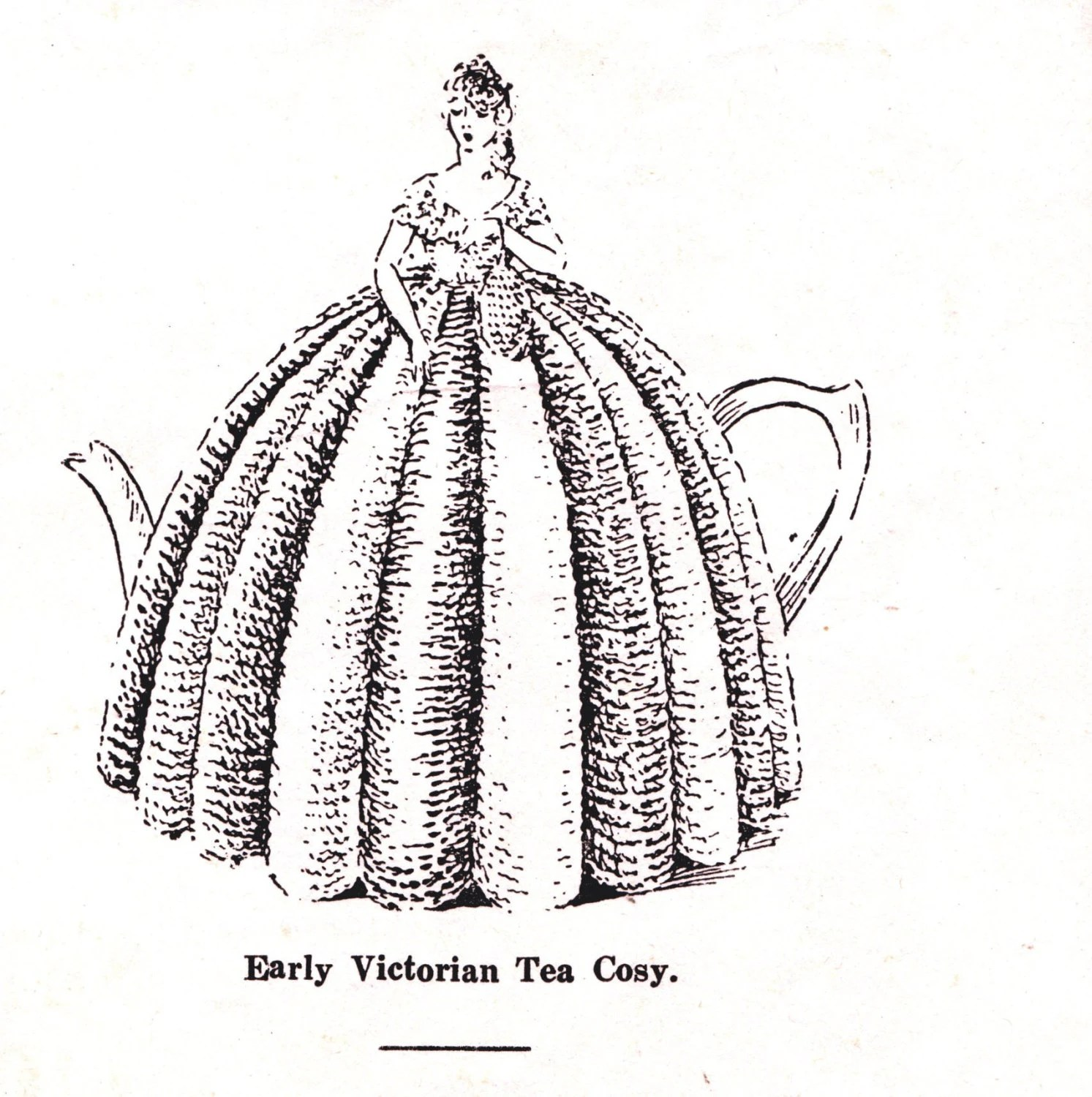Entire book of 1930s tea cosies afghans novelty knits and