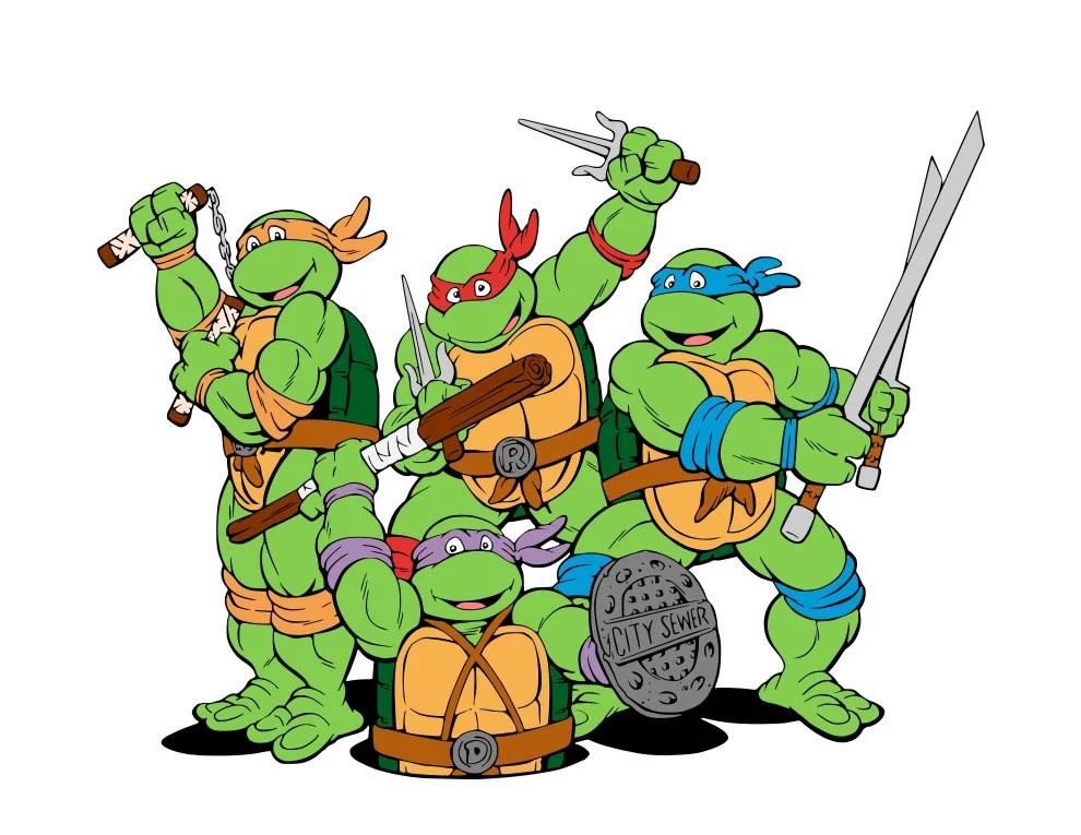 TMNT Teenage Mutant Ninja Turtles Collection svg files