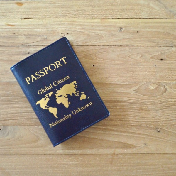Passport Cover Global Citizen Nationality Unknown