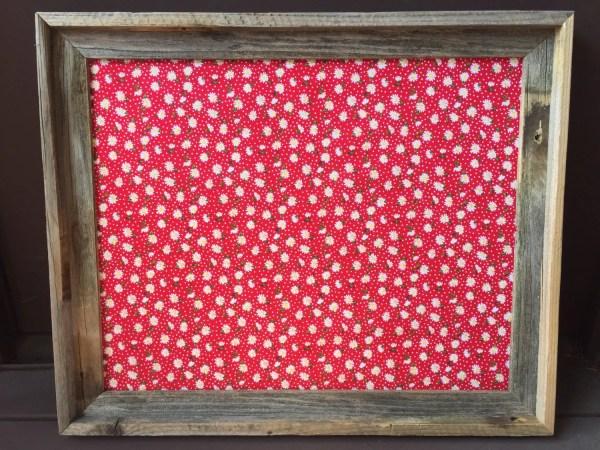 Decorative Bulletin Board Fabric Cork Organizer