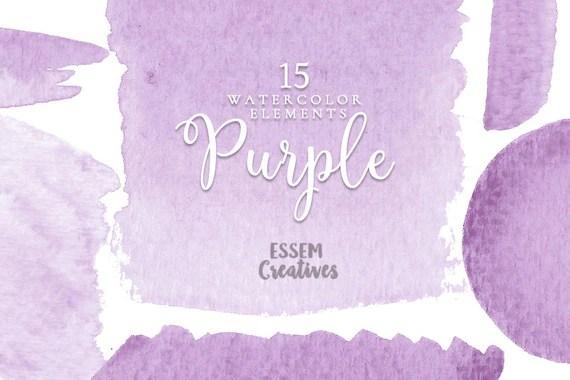 Watercolor Wallpaper Backgrounds Quote Purple Watercolor Background Clipart Splash Lilac Logo