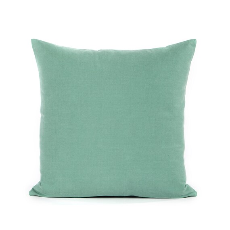 20X20 Solid Seafoam Green Cushion  Throw by dailydecorstudio