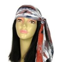 70's Headscarf Neck Scarf Southwestern Scarf Hippie Hair