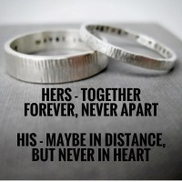 Quote Idea Love Rings His n Hers Promise Rings Wedding