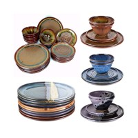 Build your own pottery dinnerware set. Each piece sold