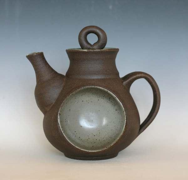 Full Moon Teapot Ceramic Handmade Stoneware